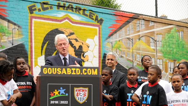 BIll+Clinton+visits+FC+Harlem