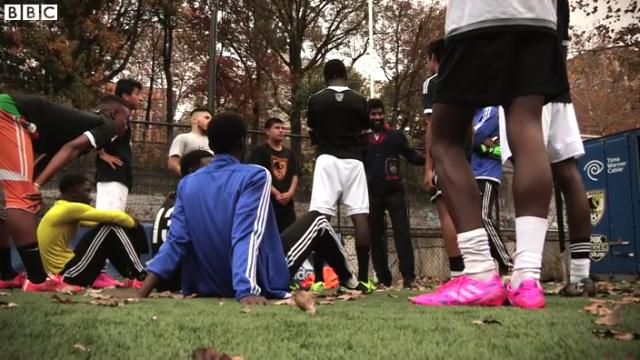 BBC Sport Feature: FC Harlem